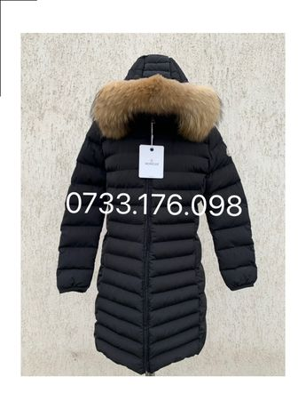 Geaca Moncler Originala lunga made in Romania
