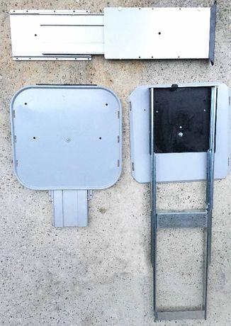 Suporti telescopici pentru televizor, cuptor microunde etc
