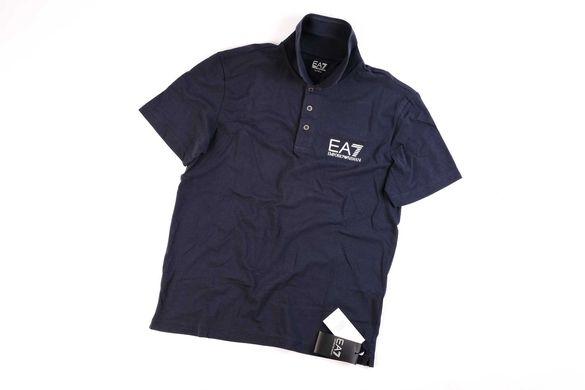 Emporio Armani EA7 Core-M размер- Оригинална мъжка тъмно синя тениска
