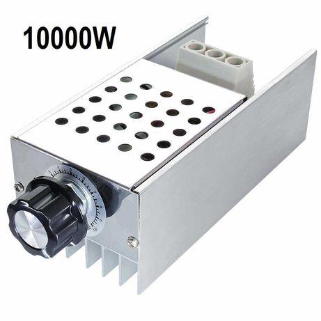 Variator tensiune AC 220V 10000W Regulator Motor Hota dimmer Becuri
