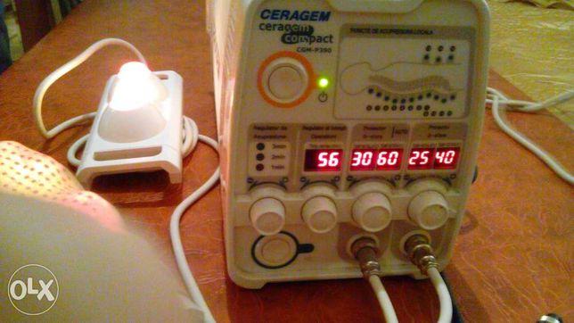 Ceragem compact GCM-P390 - termomasaj cu pietre de jad
