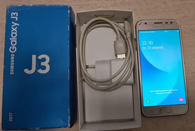 Продам сотовый телефон Samsung galaxy J3,