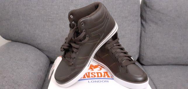 Adidasi gheata sneakers Londsdale noi, cu eticheta