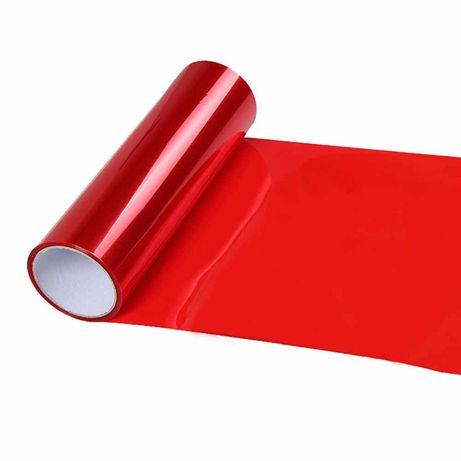 Червено фолио за стопове, 30 см широчина на фолиото