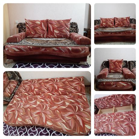 Продам мягкую мебель(1 дивана, 1кресло)
