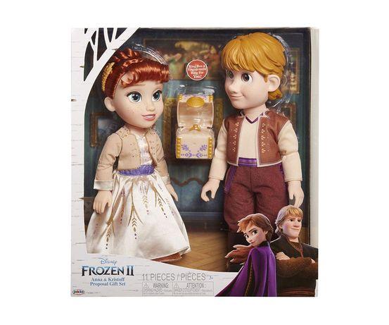 Замръзналото кралство - Ана и Кристоф ГОЛЕМИ кукли Frozen неотваряни