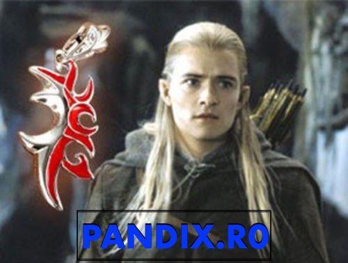 Pandantiv / Colier / Lantisor - Film LORD OF THE RINGS - Legolas