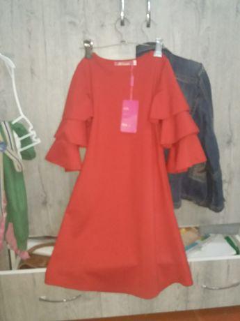 Новое платье на 7-8 летней принцессе 3000тг