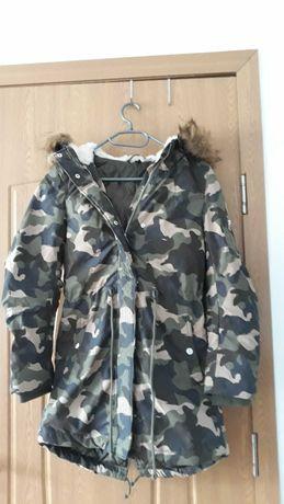 Geacă de damă H&M DIVIDED camuflaj marimea 32