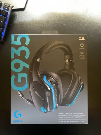 Casti Gaming Logitech G935 Wireless