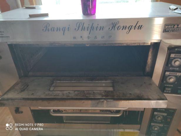 Печь для выпечки газовая