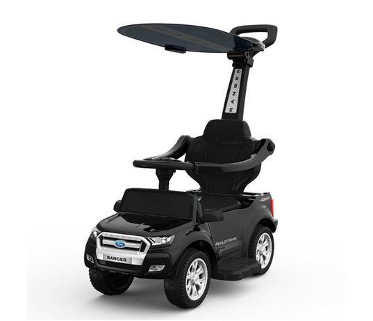 Carut pentru plimbat copii 2 in 1 Ford Ranger STANDARD #Negru