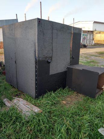 Кессон металлический Погреб