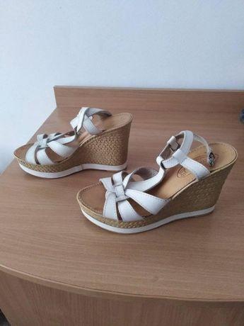 Дамски сандали на ток Made in Greece