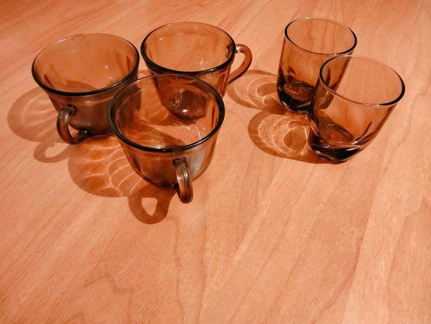 Продам стаканы из темного стекла