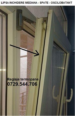 Reparatii termopane Otopeni - Ilfov reglaje ferestre si usi termopan.