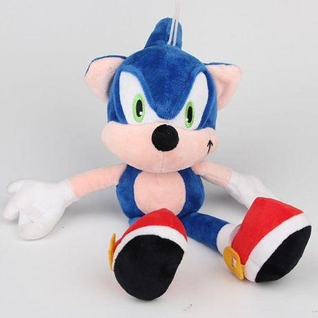 Соник плюшена играчка 30 см, Soniq играчка, sonik, sonic, плюш