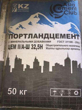 Цемент 1200 тг с бесплатной доставкой по г. Алматы