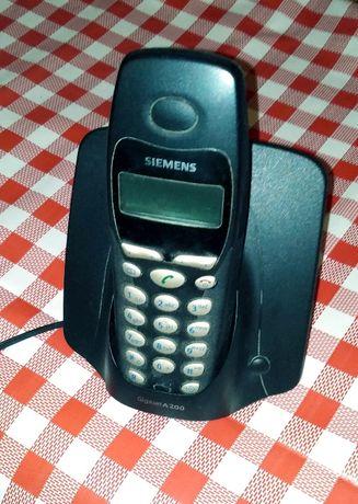 "Продавам безжичен домашен телефон ""SIEMENS"" -работещ."