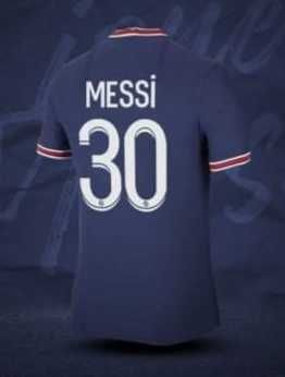 PSG MESSI 21/22 детски футболен Екип Меси ПСЖ париж 2022г
