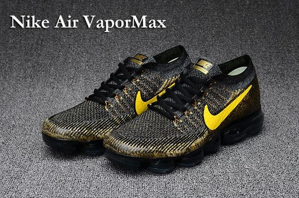 Nike Air Vapormax Gold Black