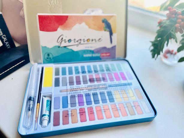 Подарочный Набор акварельных красок (48 цветов)