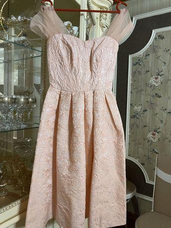 Нежное платье 3Д
