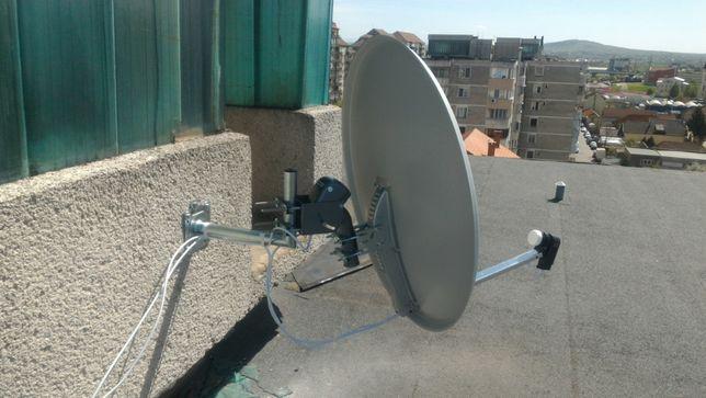 Instalez  antena parabolica, reparatii calculatoare, Instalare router,
