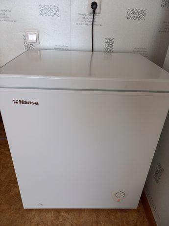 Морозильник Hansa 140 литров. Новый