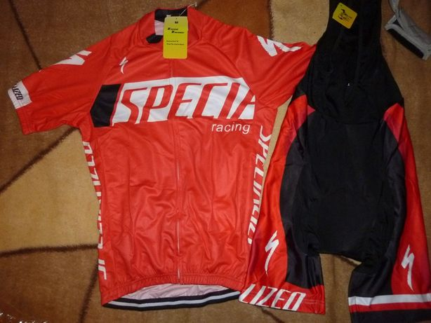Echipament ciclism Specialized rosu racing 2020 set pantaloni tricou