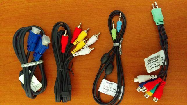 Vand diferite cabluri / cablaje mufa RCA / Jack / VGA
