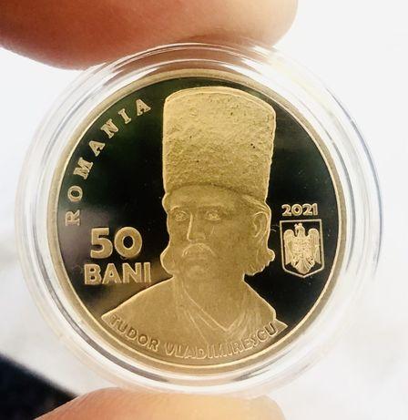 Moneda 50 Bani PROOF - Tudor Vladimirescu