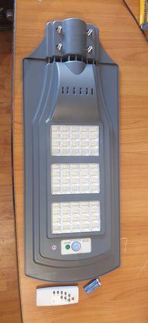 Lampa solara-stradala de 180W si 320W cu telecomanda.