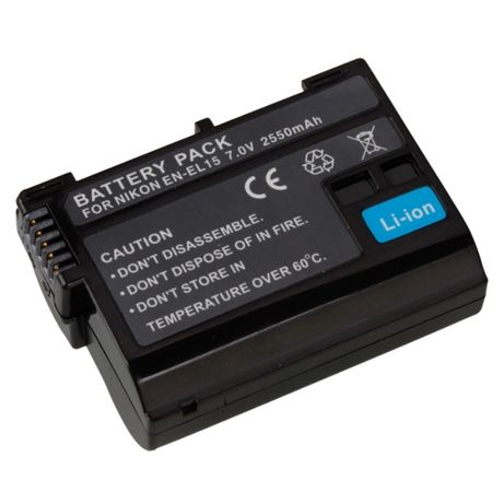 ANIMABG Батерия модел EN-EL15 за Nikon V1 D11 D7000 D7100 D600 D610 D8