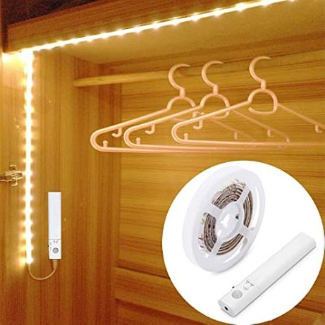 Безжична LED лента със сензор за движение 1 метър