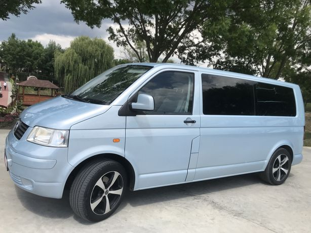 Vand vw T5 lung transporter caravelle motor 2,5 CP 131 an 2007