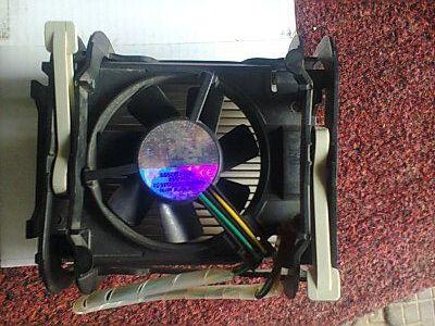 Cooler+radiator procesor 478