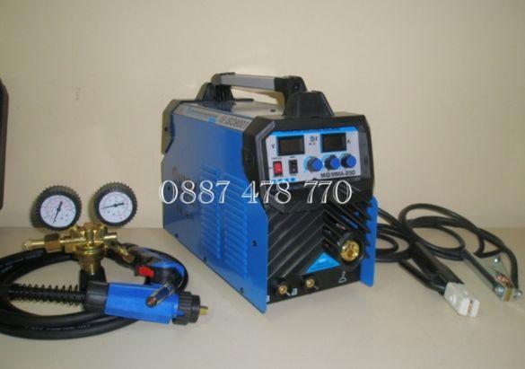 250А Електрожен с Телоподаващо