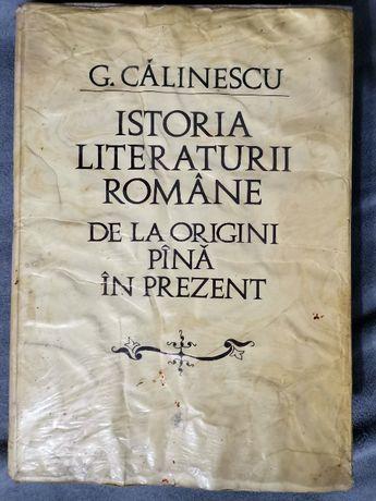Istoria literaturii române G. Calinescu, ed 2-a