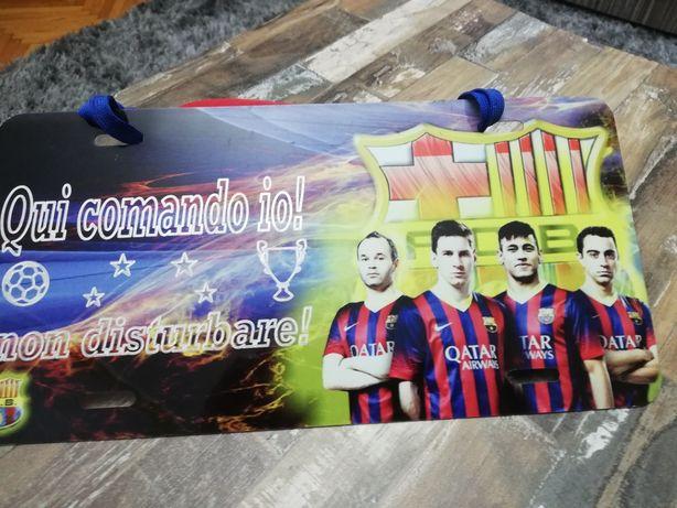 Plăcută de tabla F C Barcelona
