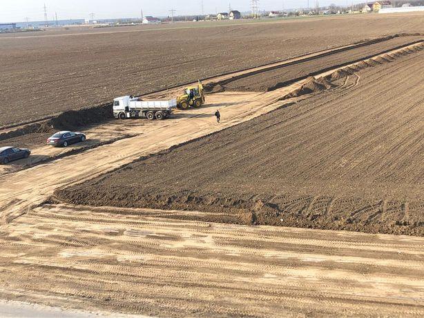 Pământ negru de gazon fertil 42 RON pietris balast nisip amenajari