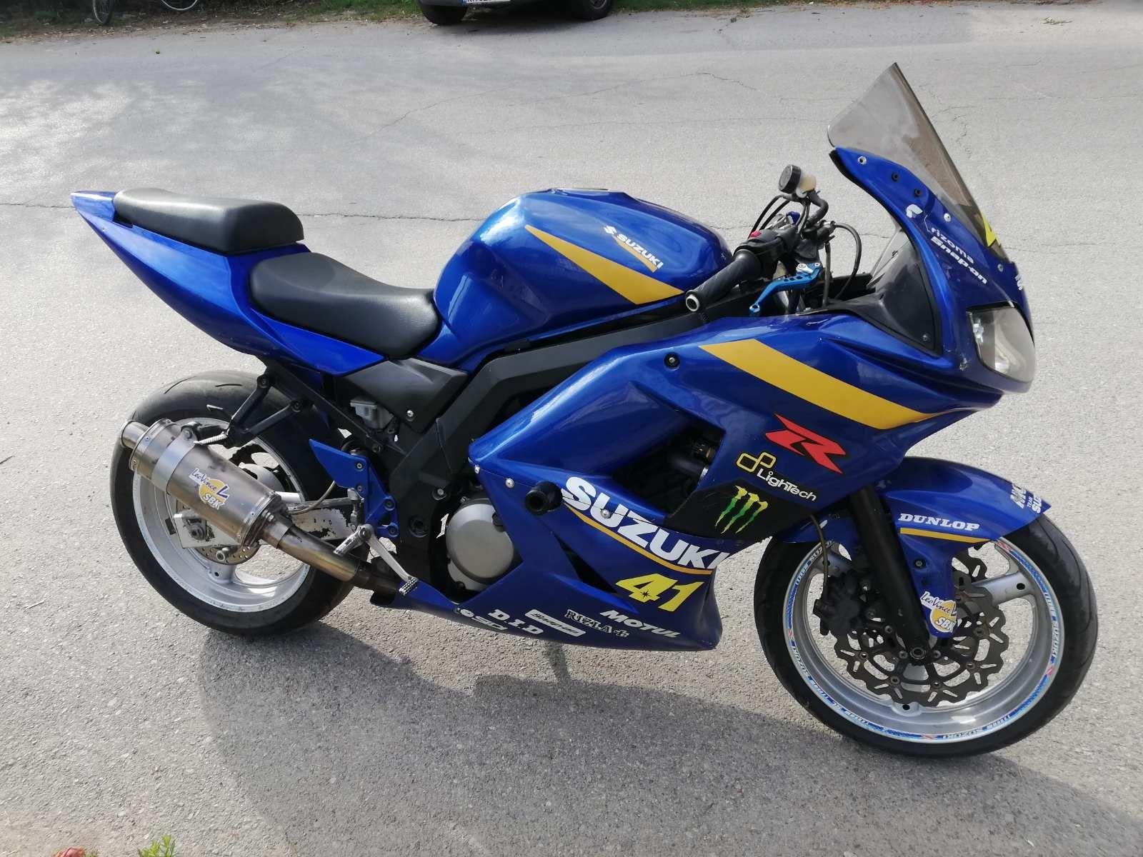 Сузуки СВ 650 2007г. Sv650S Мотоциклет НА ЧАСТИ