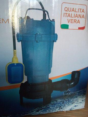 Дренажна помпа за мръсна вода. потопяема помпа с дробилка.2600 вата