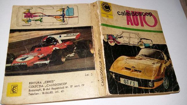 Caleidoscop Auto 1972, stare bună, 240 p., pt. nostalgici - 15 lei