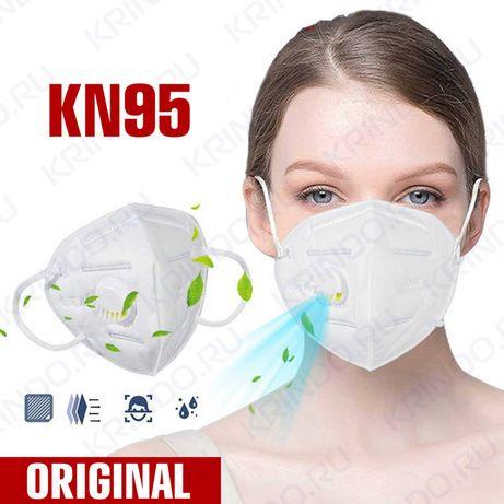 Строительный респиратор маска KN95/FFP2, защитная полумаска Алматы