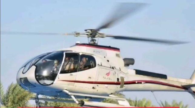 Полет на вертолёте в Дубае