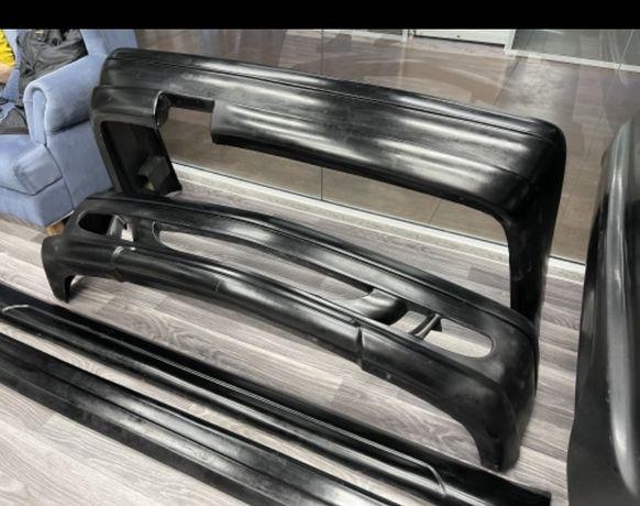 Мерседес W140-W190 передний,задний бампер,пороги