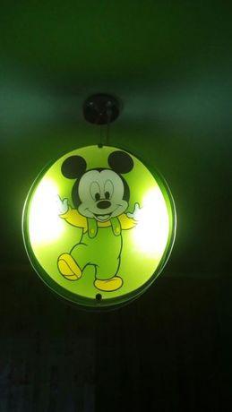 Lustra Mickey Mouse + bonus sau schimb cu HDD extern 1T