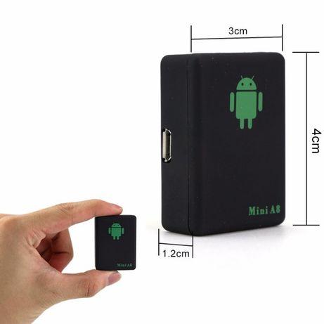 Microfon spion de urmarire si localizare mini A8 GPS/GSM/GPRS Spion