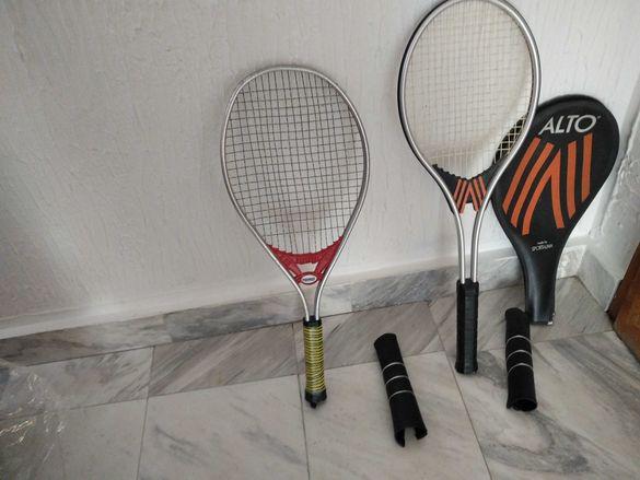 Ракети за тенис на корт